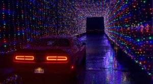 Take A Dreamy Ride Through The Largest Drive-Thru Light Show In New Jersey, Magic Of Lights