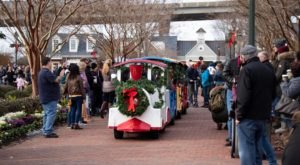 Take Your Whole Family To The Enchanting Christmas Festivities On Main Street In Yorktown, Virginia