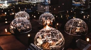Cozy Up In A Rooftop Igloo For Drinks And A View At The Bobby Hotel In Downtown Nashville