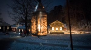 The Holiday Candlelight Walk At The Farmers' Museum In New York Is Pure Christmas Magic