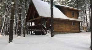 You'll Find A Luxury Glampground At Cabins At Pine Haven In West Virginia, It's Ideal For Winter Snuggles And Relaxation