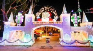 Santa's Enchanted Forest In Florida Was Named One Of The Biggest Christmas Displays In The U.S.