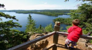 Hike Honeymoon Bluff In Grand Marais, Minnesota For A Spectacular View Of A Lake From Above