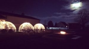 Stay Warm And Cozy This Season At A Winery Igloo Bar In Indiana
