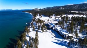 The Edgewood Tahoe Resort In Nevada Gets All Decked Out For Christmas Each Year