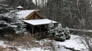 You'll Feel Like Hibernating All Winter Long At The Enchanted Cottage, A Cozy Bed & Breakfast In Virginia