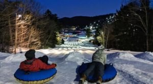 The Longest Snow Tubing Run In New Hampshire Can Be Found At Gunstock Mountain Resort