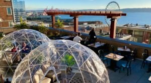 Dine In An Igloo On A Rooftop At Maximilien Restaurant In Washington