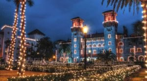 Visit St. Augustine, The One Christmas Town In Florida That's Simply A Must Visit This Season