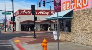 Nevada Is Home To An Antique Alley Where You'll Find Over A Dozen Different Thrift Shops