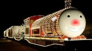 The Holiday Express Train Visits More Than 20 Cities In America And Is Making A Stop In Louisiana This Year