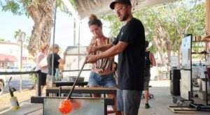 Make Your Own One-Of-A-Kind Souvenir At Moana Glass In Hawaii