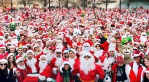 Watch As Hundreds Of Santas Take Over The Queen City At Cincinnati SantaCon