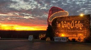Drive Through Millions Of Lights At Shepherd Of The Hills In This Holiday Display In Missouri