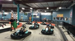 With 50-MPH Go-Karts, Veloce Indoor Speedway Offers An Adrenaline-Filled Escape Like No Other