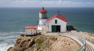 Visit The Newly Renovated Point Reyes Lighthouse In Northern California To See An Authentic Piece Of History