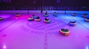 Bumper Cars On Ice Have Arrived In Washington And They Look Like Loads Of Fun