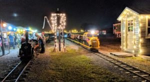 Board The North Pole Express At The Norwest Ohio Railroad Preservation For A One-Of-A-Kind Light Display