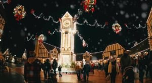 Immerse Yourself In An Enchanted Winter Wonderland At The Busch Gardens Christmas Town In Virginia