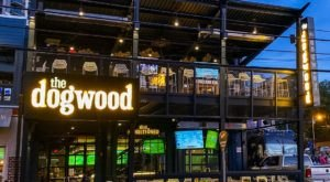 Enjoy Two Levels Of Patios At The Dogwood, An Indoor/Outdoor Restaurant And Music Venue In Nashville