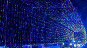 Drive Through Millions Of Lights At Daytona International Speedway In Florida This Holiday Display