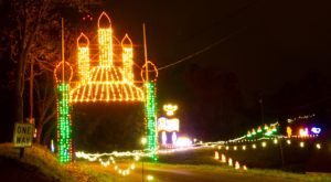 The Drive-Thru Christmas Lights Display In West Virginia The Whole Family Will Enjoy
