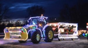 The St. Alban's Tractor Parade In Vermont Is A Magical Way To Celebrate The Season
