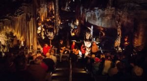 Have A Truly Enchanting Evening At Blanchard Springs' Caroling In The Caverns In Arkansas