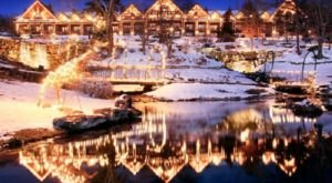Big Cedar Lodge In Missouri Gets All Decked Out For Christmas Each Year