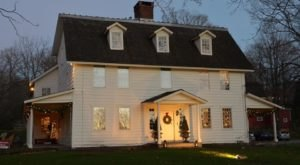 Get In The Spirit At The Biggest Christmas Store In Connecticut: Historical Christmas Barn