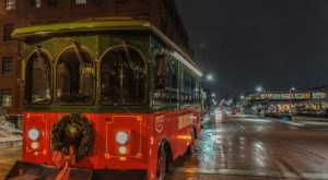 Get Festive On Michigan's Beer Trolley During The BYOB Christmas Lights Tour