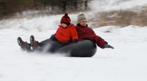 The Longest Snow Tubing Run In Illinois Can Be Found At Blackwell Forest Preserve