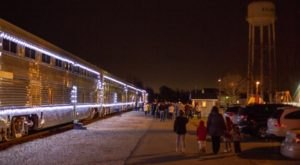 All Aboard The Reindeer Ride Express, A Christmas-Themed Train Ride Through Indiana