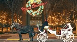 Embark On A Christmas Carriage Ride In Indiana Through Fort Wayne's Magical Downtown