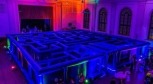 Escape From A Life-Size Pac-Man Maze, Coming To Indiana Early Next Year