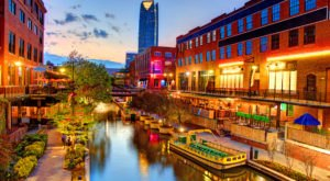 Oklahoma City, Oklahoma Has Been Voted A Top Up-And-Coming City To Visit In The U.S.