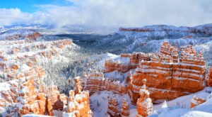 Be In Awe Of The Frozen Utah Landscape At Bryce Canyon National Park