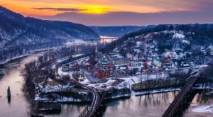 Harpers Ferry, The One Christmas Town In West Virginia That's Simply A Must Visit This Season