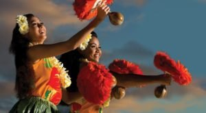 Enjoy A Night-Time Holiday Adventure At The Waikiki Starlight Luau's Christmas Celebration