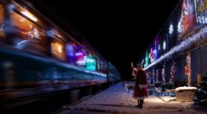 For A Magical Holiday Adventure Your Family Will Never Forget, Take The Train To Christmas Town In Oregon