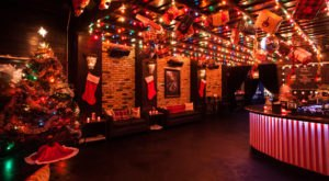 This Christmas-Themed Pop-Up Bar In Northern California Is Bound To Put You In The Holiday Spirit