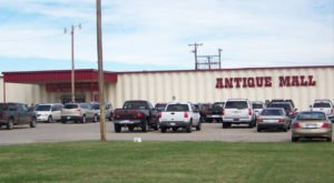 Absolutely Gigantic, You Could Easily Spend All Day Shopping At Paramount Antique Mall In Kansas