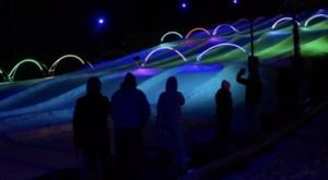Try The Ultimate Nighttime Adventure With Glow Tubing At Snow Trails In Ohio