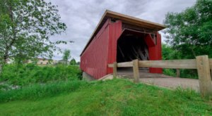 The Oldest Covered Bridge In Minnesota Has Been Around Since 1869