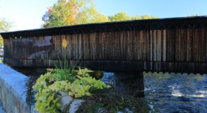 The Contoocook Railroad Bridge In New Hampshire Is The Oldest Example Of A Train Bridge In America
