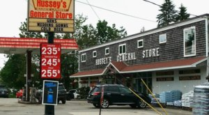 Absolutely Gigantic, You Could Easily Spend All Day Shopping At Hussey's General Store In Maine
