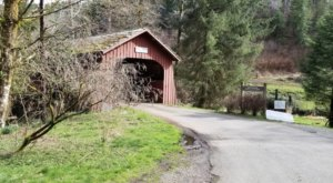 The Oldest Covered Bridge In Oregon Has Been Around Since 1914