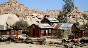 Take A Fascinating Tour Of Keys Ranch, A Preserved 1900s Ranch Hiding In The Desert Of Southern California