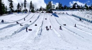 The Longest Snow Tubing Run In Southern California Can Be Found At Big Bear Snow Play
