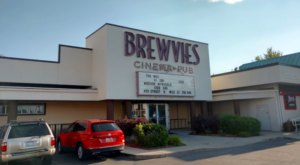 Dine On Delicious Pizza And Beer While You Watch A Movie At Brewvies In Utah